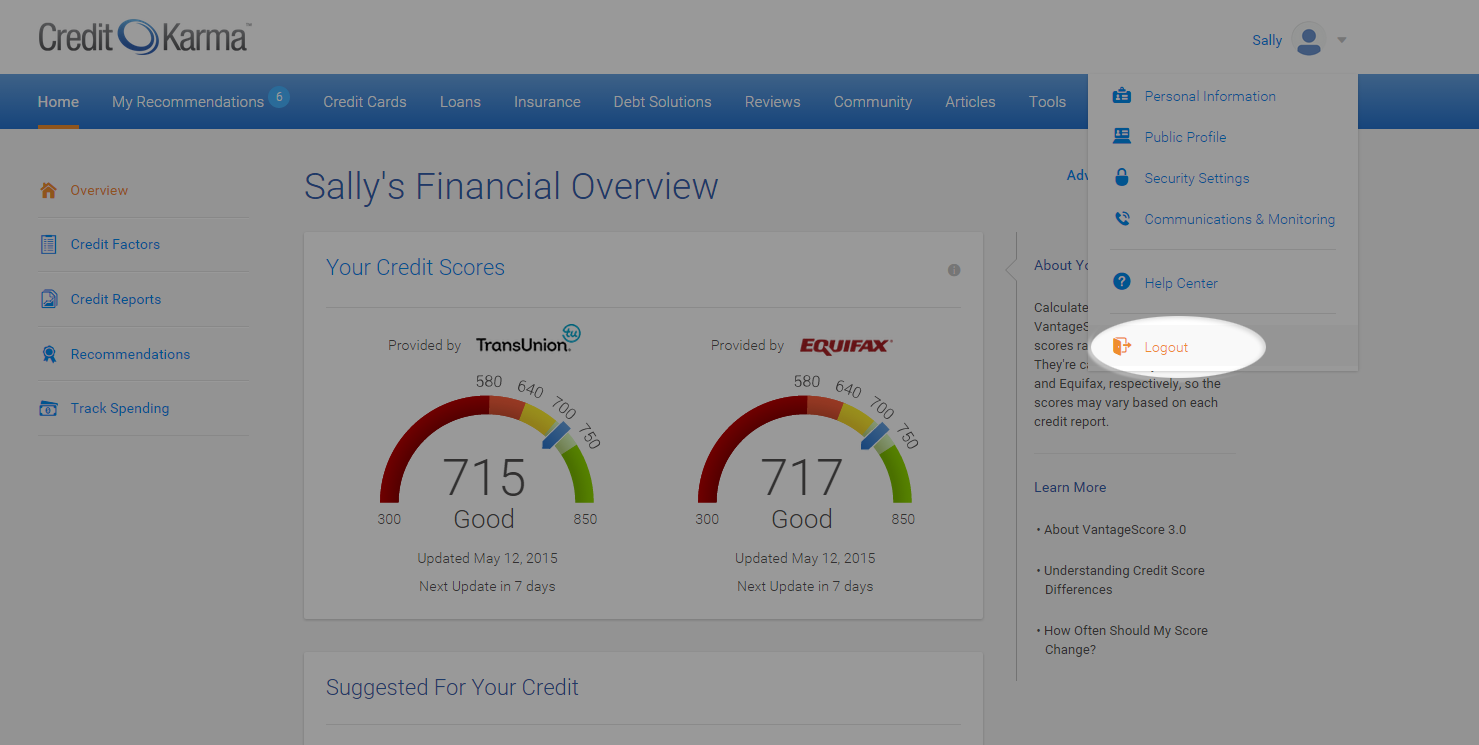 how to delete my credit karma account
